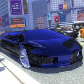 Wedding Limousine driver 3D icon