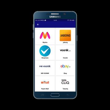 All in one Shopping Site India apk screenshot