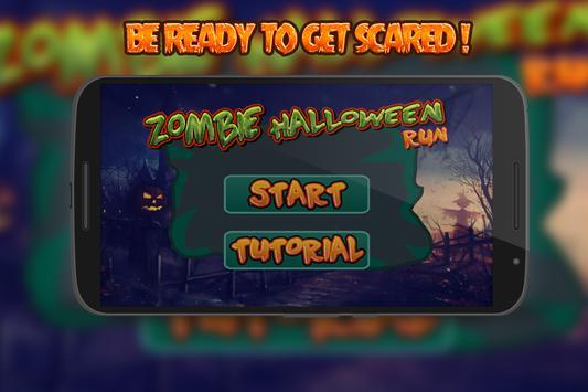 Zombie Halloween Run poster