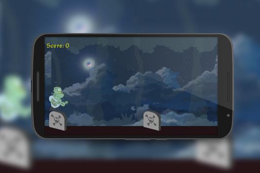 Zombie Halloween Run apk screenshot