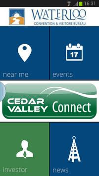 Cedar Valley Connect poster