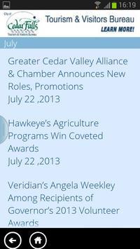 Cedar Valley Connect screenshot 2