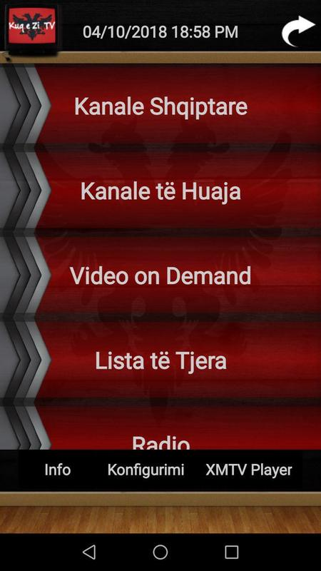 Kuq e Zi TV for Android - APK Download