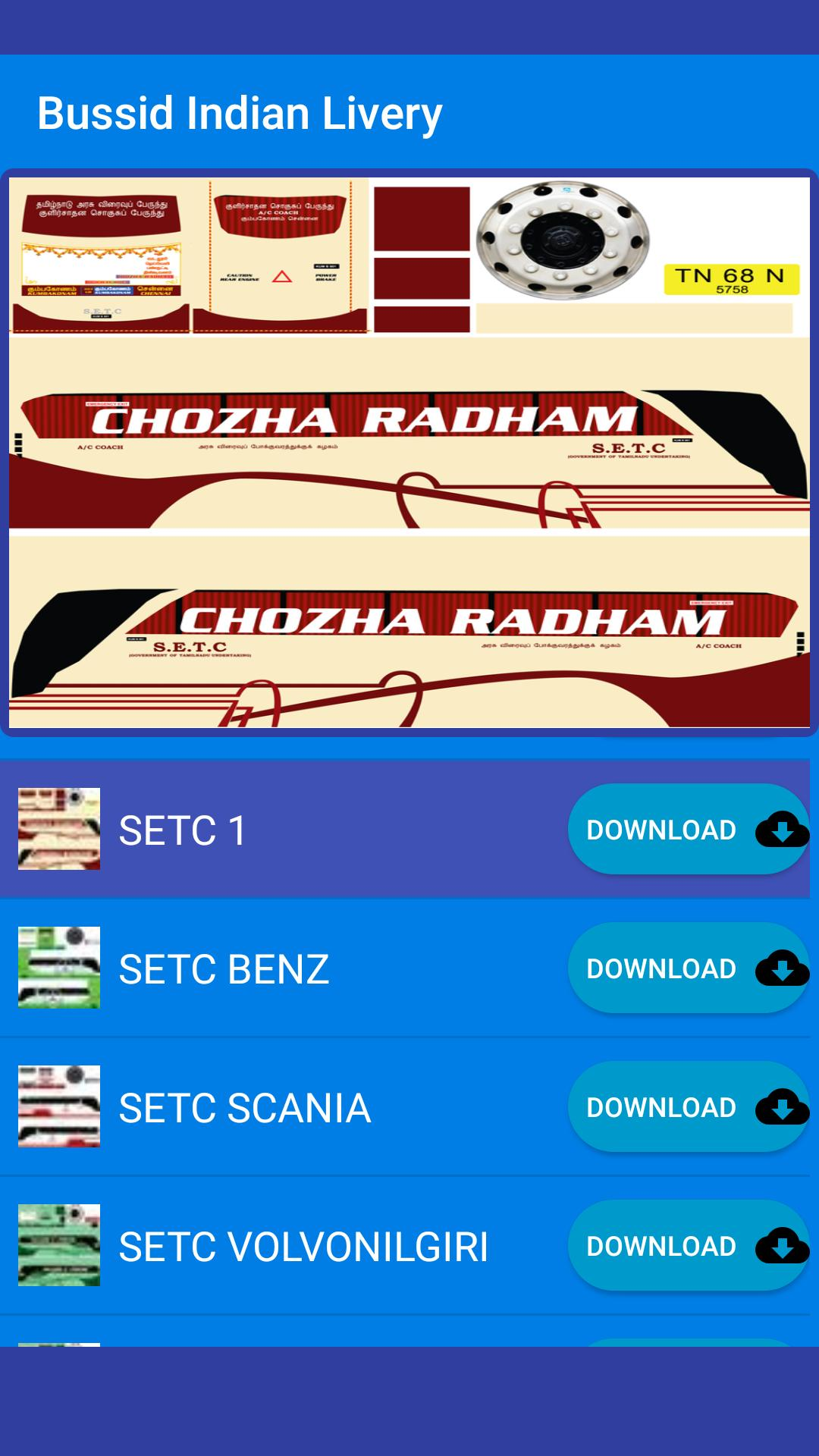 Bussid Indian Livery for Android - APK Download