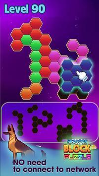 Hexagon Block Puzzle screenshot 1
