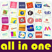 All in one shopping app India icon