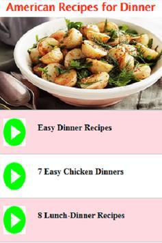 American dinner recipes and ideas videos descarga apk gratis salud american dinner recipes and ideas videos captura de pantalla de la apk forumfinder Image collections