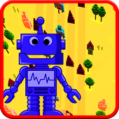 2d Robot Survival adventure:  Smiley Jumper 2018 icon