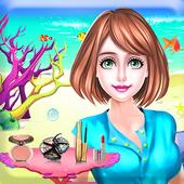 Cute Mermaid MakeUp Salon icon