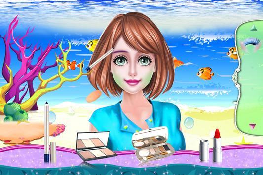 Cute Mermaid MakeUp Salon screenshot 1