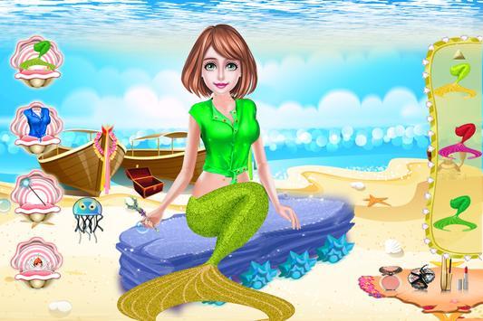 Cute Mermaid MakeUp Salon screenshot 5