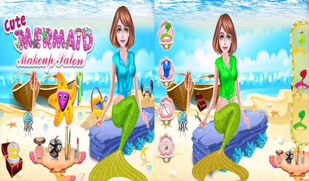 Cute Mermaid MakeUp Salon screenshot 8