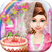 Princess Birthday Makeover icon