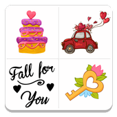 App android Love Sticker Pack APK offline hot