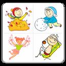 APK Seasonal Sticker Pack