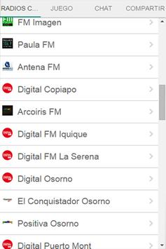 Radios Chilenas Gratis apk screenshot