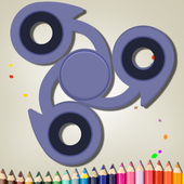 Spinner Coloring icon