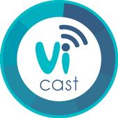 ViCast icon