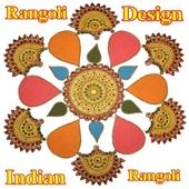 Indian Modern Rangoli Design icon