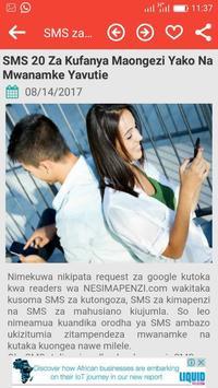 Mapenzi Raha screenshot 1