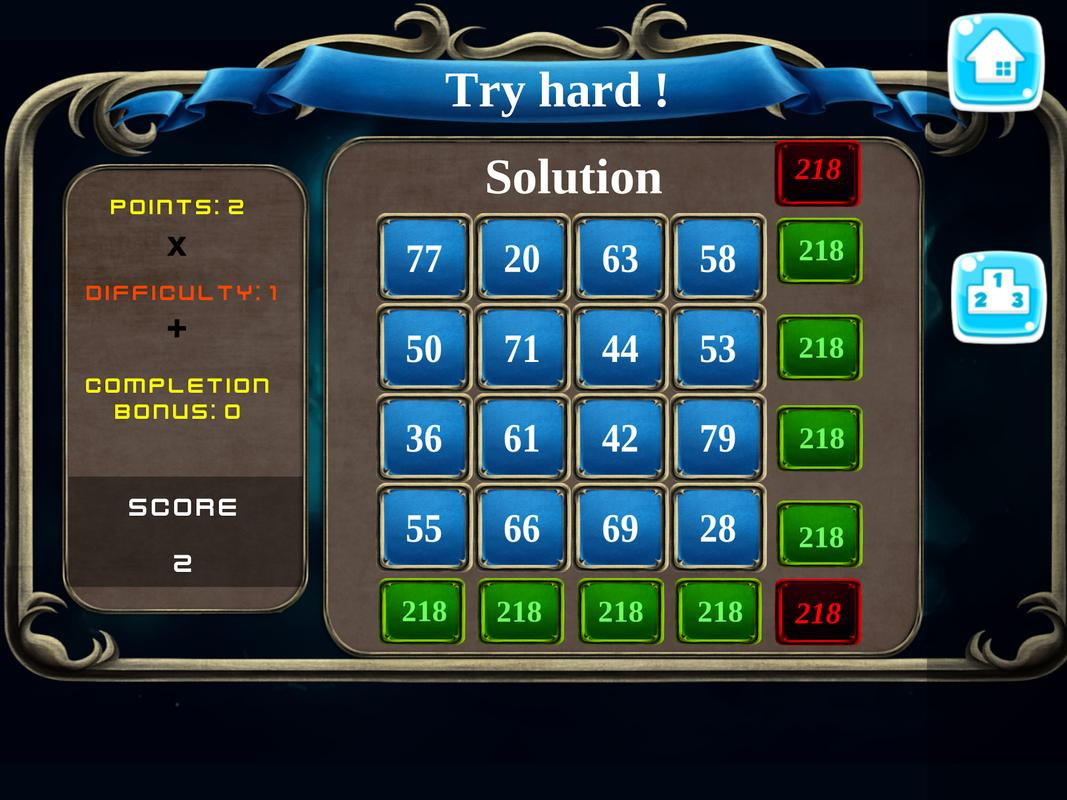 Mystery Numbers - Math Magic Square APK Download - Free Puzzle GAME ...