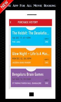 Movie Tickets Booking free App apk screenshot