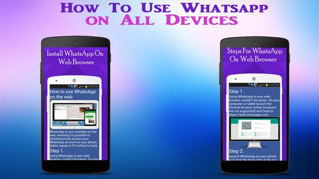 Guide WhatsApp on all Device screenshot 3