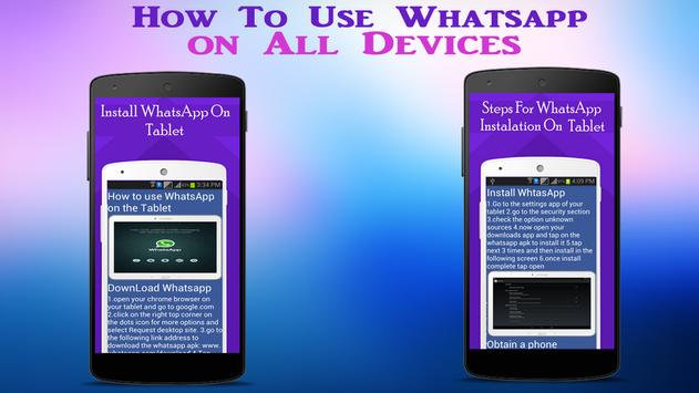Guide WhatsApp on all Device screenshot 5