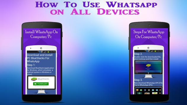 Guide WhatsApp on all Device screenshot 6