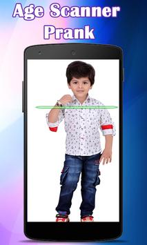 Scanner for Age and bp test it is Prank free app poster