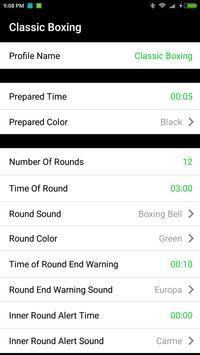 boxing interval timer screenshot 3