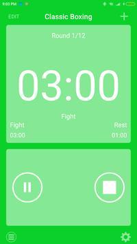boxing interval timer screenshot 1