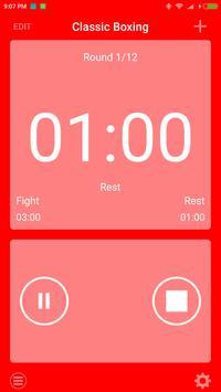 boxing interval timer screenshot 2