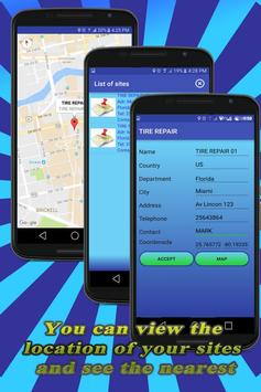 Vehicle Care and Sites apk screenshot