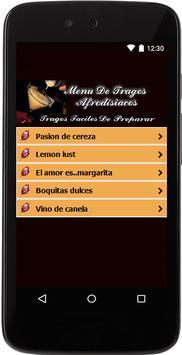Recetas de tragos cocteles fáciles de preparar. apk screenshot