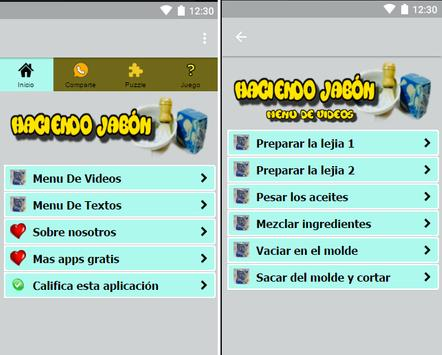 Haciendo Jabon En Casa apk screenshot