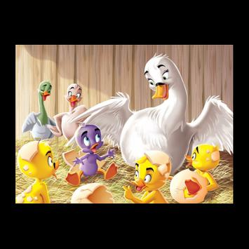The Ugly Duckling tale video apk screenshot