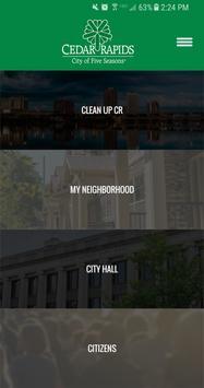 The City of Cedar Rapids poster