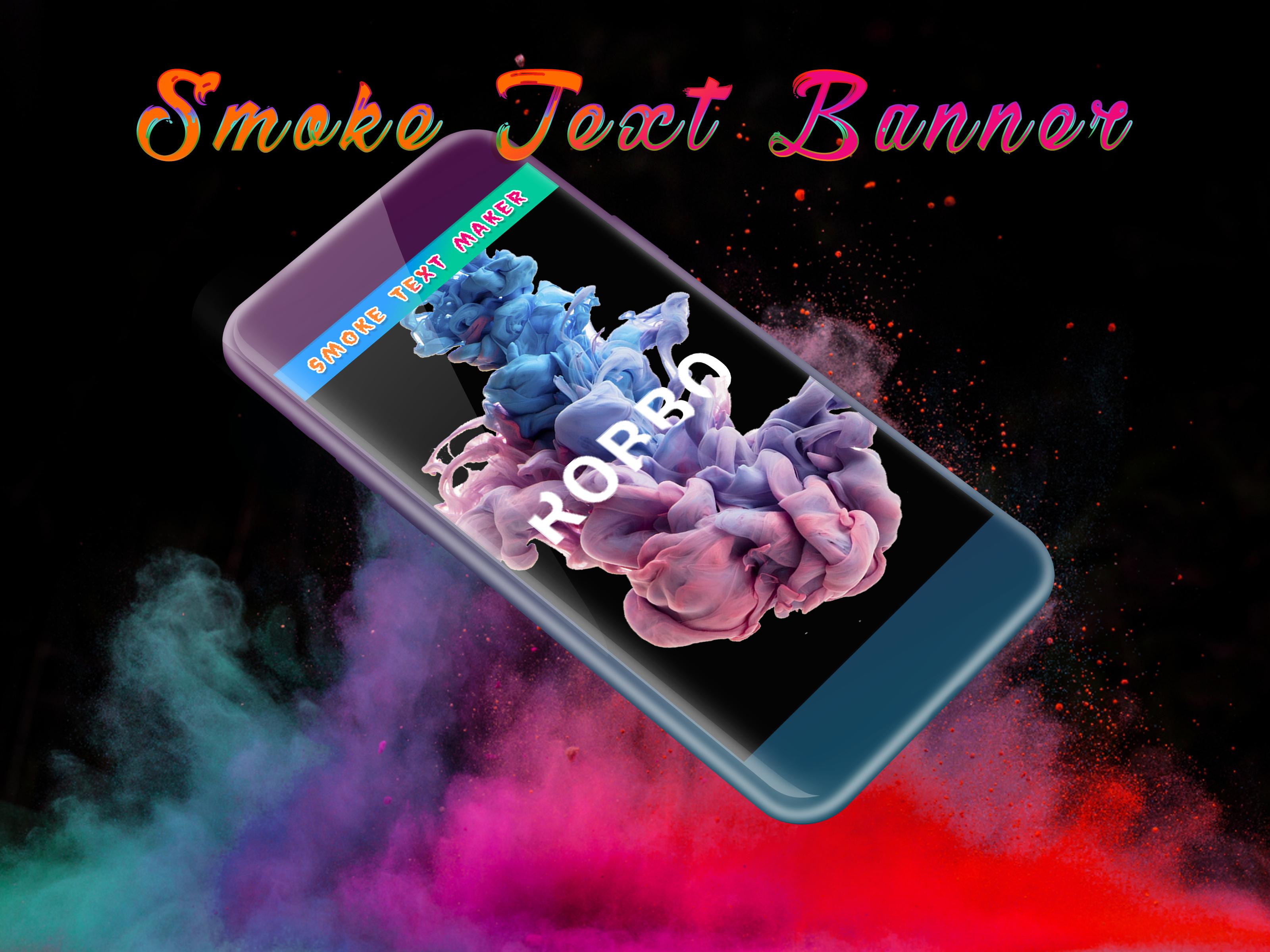 Smoke Effect Art Name: Focus Filter Maker for Android - APK Download
