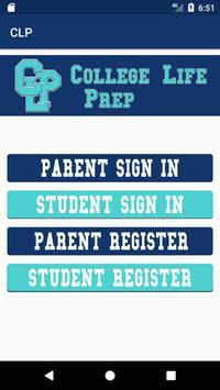 College Life Prep poster