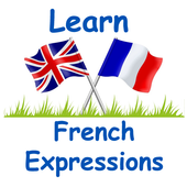 Learn French English Expressions icon