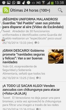 Venezuela Noticias Azules apk screenshot