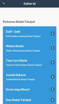 Shalat Sunah Tahajud apk screenshot