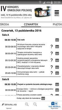 IV Kongres Onkologii Polskiej screenshot 2