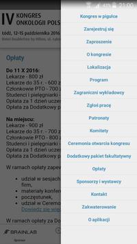 IV Kongres Onkologii Polskiej screenshot 4