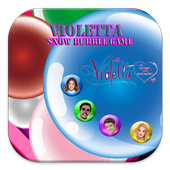 Violetta Snow Bubble Game icon