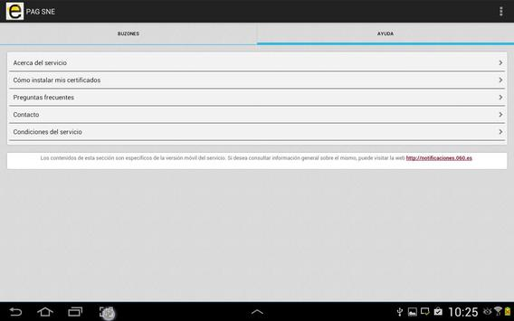 Notificaciones Electrónicas screenshot 10