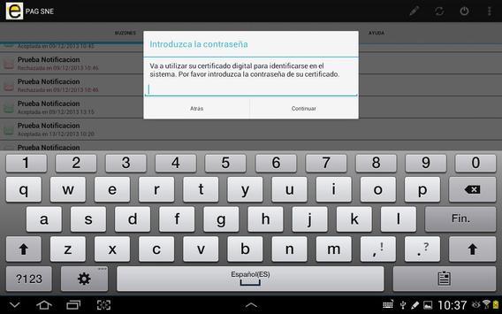 Notificaciones Electrónicas screenshot 11