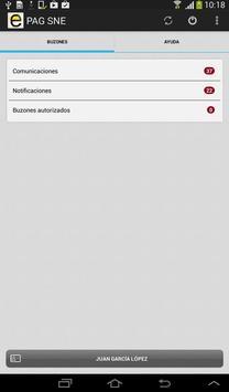 Notificaciones Electrónicas screenshot 12