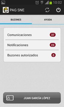 Notificaciones Electrónicas screenshot 1